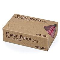 【ケース販売】 カラーバンド プチ #16 30g×100箱 ピンク