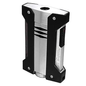 S.T.Dupont (エス・テー・デュポン) ライター 021403 デフィ エクストリーム(DEFI EXTREME) ターボライター グレー(クロム フィニッシュ) [正規品]