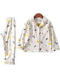99142013bfcc5 AIKEE 子供 ルームウェア 女の子 男の子 フリース パジャマ キッズ 長袖 Tシャツ+パンツ 上下セット あったか 秋冬 部屋着 ふわふわ ボア  寝巻き 100-140…