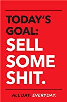 King Props LLC モチベーションを高めるポスター オフィス用 インスピレーションを与えるウォールアート 販売チーム用 11インチ x 17インチ サイン イーゼルバッカースタンド付き レッド