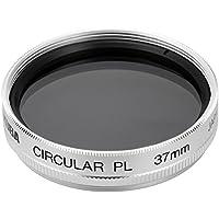 HAKUBA 37mm PLフィルター オリンパス PEN Lite E-PL1s用 サーキュラーPL 色彩強調・反射光抑制 シルバー枠 日本製 CF-CPL37EPL1S