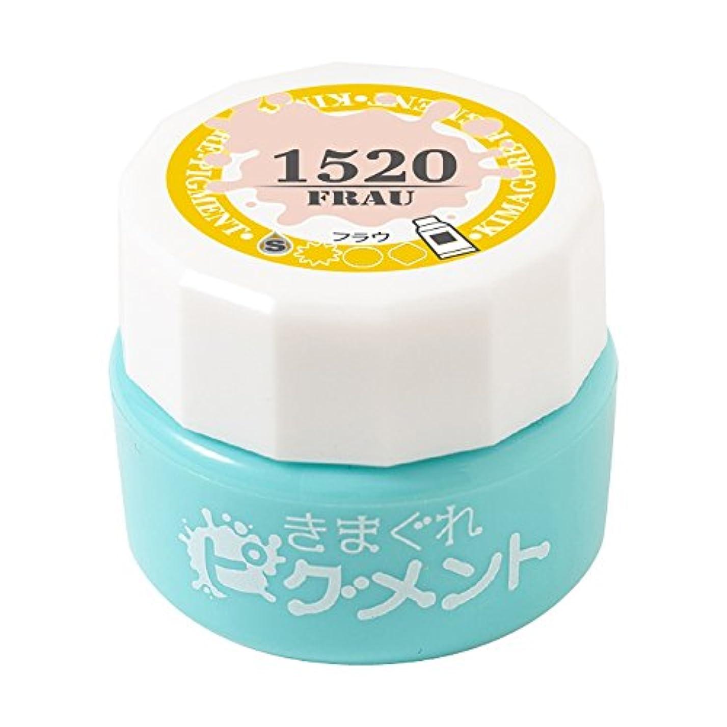Bettygel きまぐれピグメント フラウ QYJ-1520 4g UV/LED対応