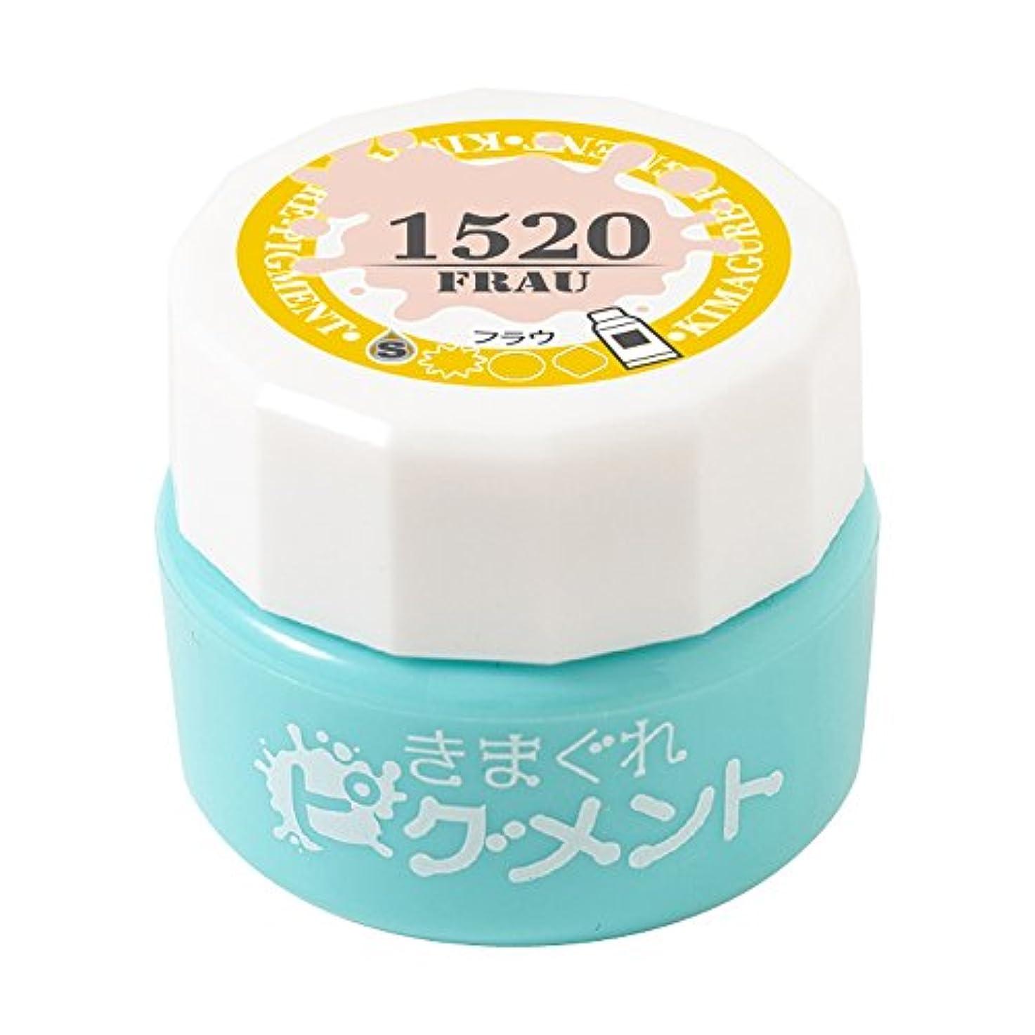 シソーラス熟達熟達Bettygel きまぐれピグメント フラウ QYJ-1520 4g UV/LED対応