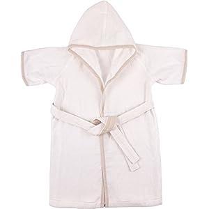 UCHINO 軽量糸薄手 ベビーローブ (70cm) ホワイト