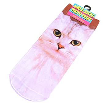 アンクル ソックス PHOTO PRINT 02 Cat/-134864 フォトプリント柄 靴下