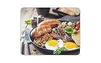 調理された朝食マウスマットパッド - フル?イングリッシュフードカフェ楽しいコンピュータギフト#15999