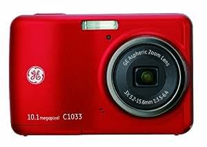GE デジタルカメラ C1033 レッド C1033R