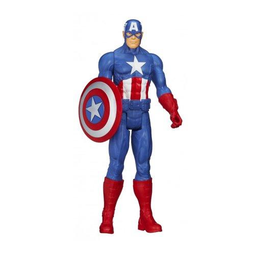 『アベンジャーズ』 【ハズブロ アクションフィギュア】 12インチ「タイタン」 キャプテン・アメリカ