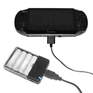 PS Vita用USB乾電池式充電アダプタ