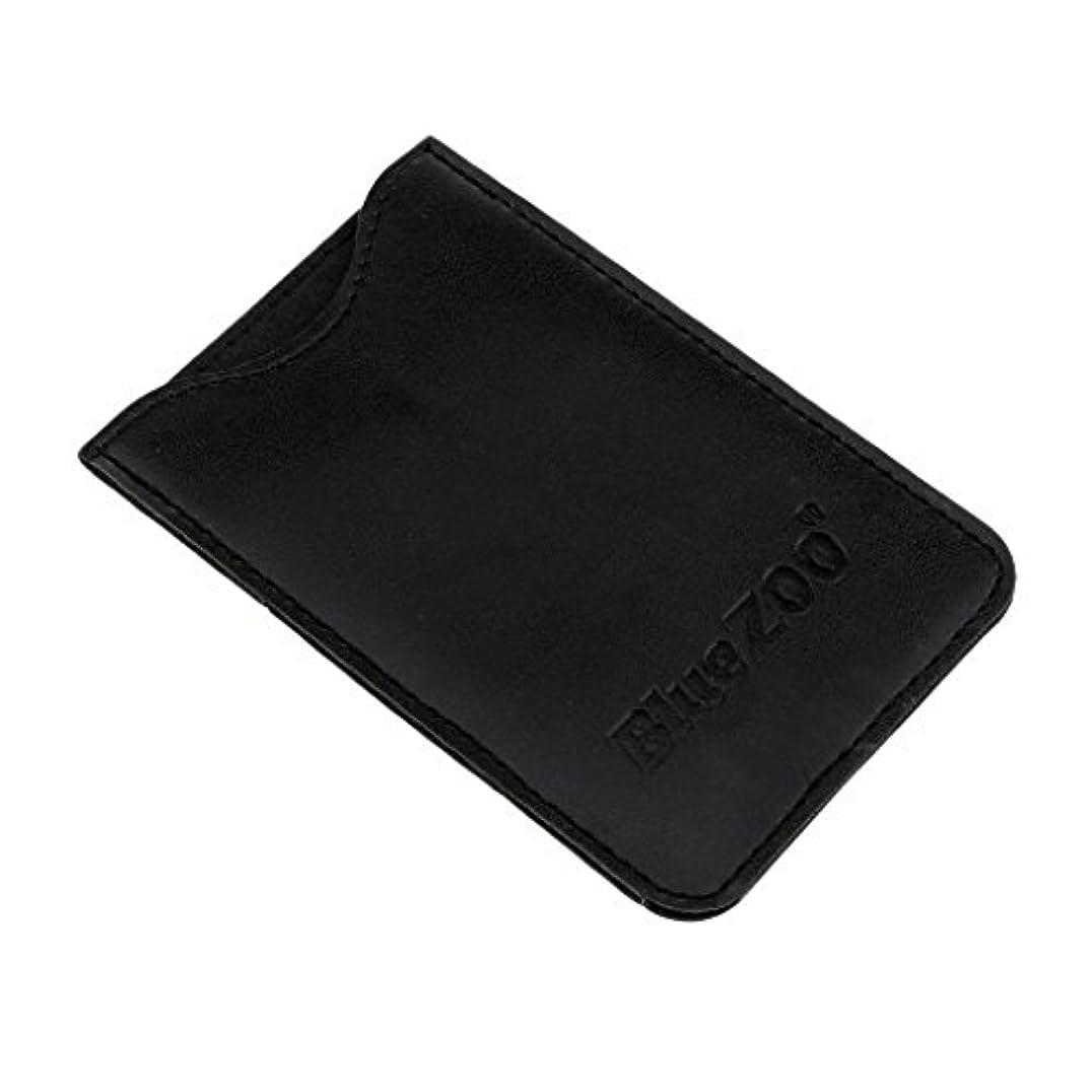 恩恵災難キルトPerfeclan コンビバッグ PUレザー 櫛バッグ ポケット オーガナイザー 収納ケース 保護カバー パック 全2色 - ブラック