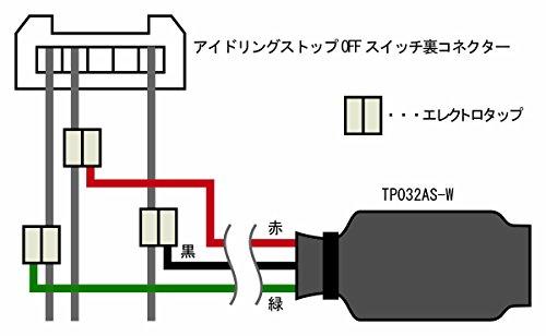【ワントップ/ONETOP】 国産車用 アイドリングストップキャンセラー 品番 TP032AS-W