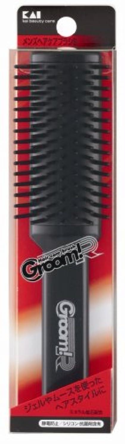 音声学共和国桃Groom!R メンズヘアケアブラシS