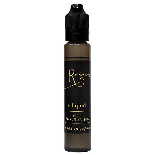 電子タバコ リキッド 国産 Raijin e-liquid ...