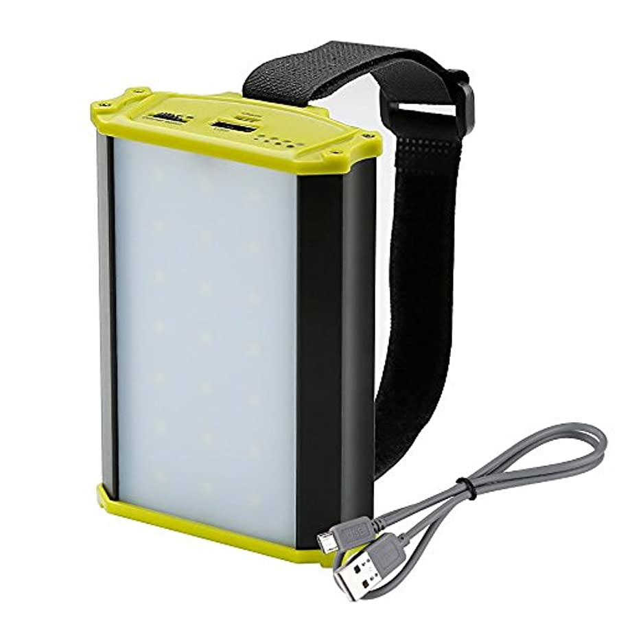 処分した落ち着かないトリッキーLE Rechargeable LED Camping Lantern, 4400mAh Power Bank, 330lm, Dimmable, Small Tent Light with Magnetic for Outdoor, Hiking, Fishing, Emergency and More [並行輸入品]