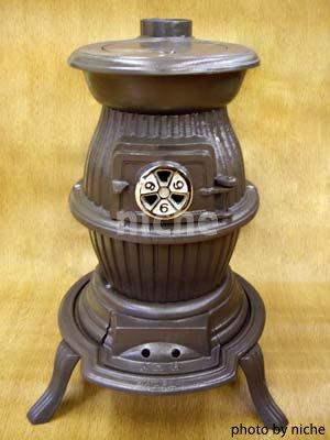 ダルマ型鋳物薪ストーブNO.6S / SHOEI