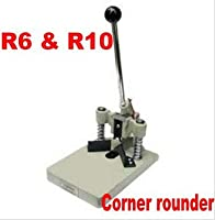 """1-3/16"""" (30MM) Corner Rounder Machine with 2 Dies R6 and R10 Punch Cutter for Paper photobook PVC R6(1/4"""") & R10(3/8"""")"""