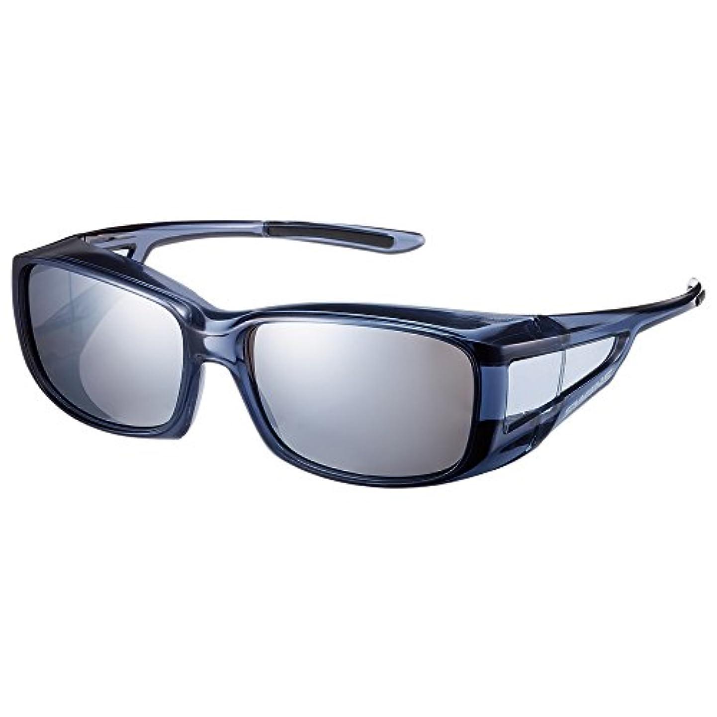 王子大使館豊富な【SWANS/スワンズ】OG-4 偏光レンズ×ミラーレンズ オーバーグラス サングラス 偏光サングラス 偏光ミラーレンズ スポーツサングラス オーバーグラスシリーズ