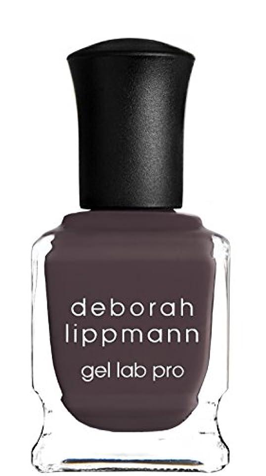 呼びかける病気だと思う促進する[Deborah Lippmann] デボラリップマン ジェルラボプロ ラブハングオーバー(カラー:グレー ダーク パープル LOVE HANGOVER ジェルポリッシュ 色:ダークパープル ネイルカラー系統:パープル(紫)15mL