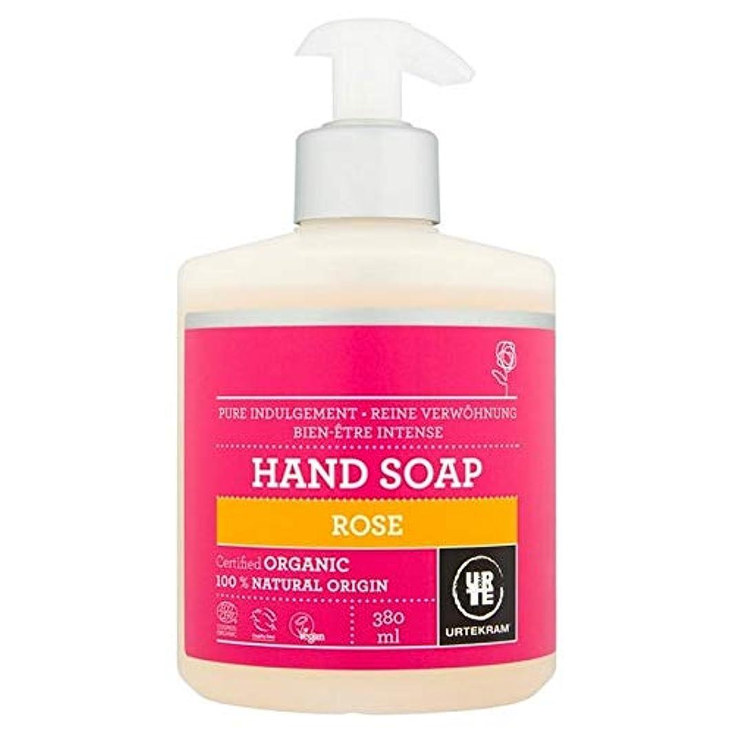 大工葉を集めるヨーグルト[Urtekram] Urtekramは、液体ハンドソープ380ミリリットルローズ - Urtekram Rose Liquid Hand Soap 380ml [並行輸入品]