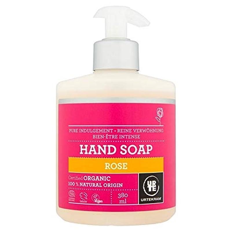 麦芽クラックマニア[Urtekram] Urtekramは、液体ハンドソープ380ミリリットルローズ - Urtekram Rose Liquid Hand Soap 380ml [並行輸入品]