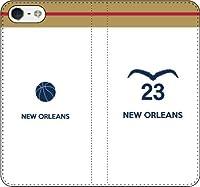 iPhone/Xperia/Galaxy/他機種選択可:バスケットシルエットケース(フルカラー/ホーム/サンアントニオ:23番_A) 13 全機種対応用【Sサイズ】