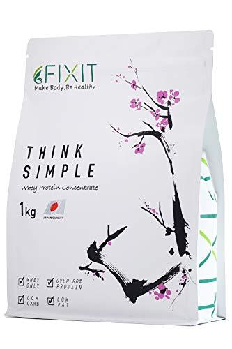 FIXIT プロテイン ホエイ プロテイン THINK SIMPLE 1kg WPC (プレーン)