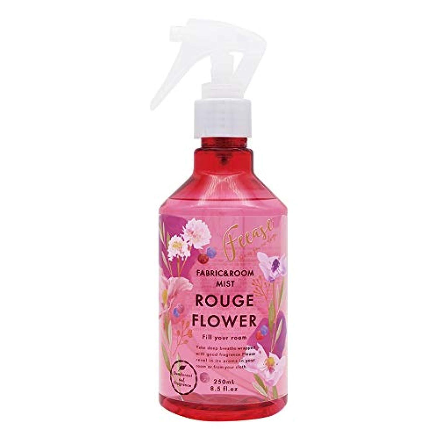 ソーダ水蘇生する取り除くノルコーポレーション ルーム&ファブリックミスト フィース 消臭成分配合 OA-FEE-1-1 ルージュフラワーの香り 250ml
