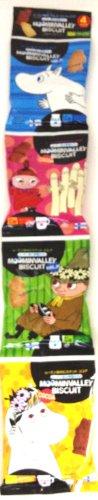 RoomClip商品情報 - 北陸製菓 ムーミン谷のビスケット ミルクとココア 4パック 80g×12袋