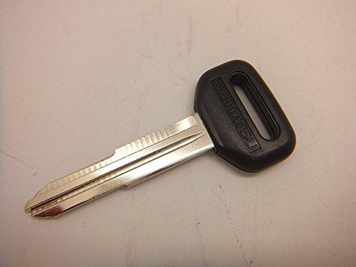 [해외]기아 타우너 트럭 (S200~ S210~ S201~ S211~ S500~ S510) 원시 빈 키 검정 DAIHATSU 이름 입/Daihatsu Hijet Truck (S200~ S210~ S201~ S211~ S500~ S510) Raw Blank Key Black DAIHATSU Name In
