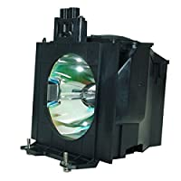 kingoo優れたプロジェクターランプfor Panasonic pt-d5500pt-d5600pt-dw5000pt-l5500用交換プロジェクターランプ電球ハウジング