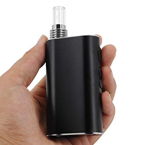 【2019最新型】加熱式タバコ ヴェポライザー CSVK DM-PAX 葉タバコ専用 タバコ代1/5 電子タバコ 温度調整可能 バイブレーション機能 3ヶ月メーカー保証付き (ブラック)