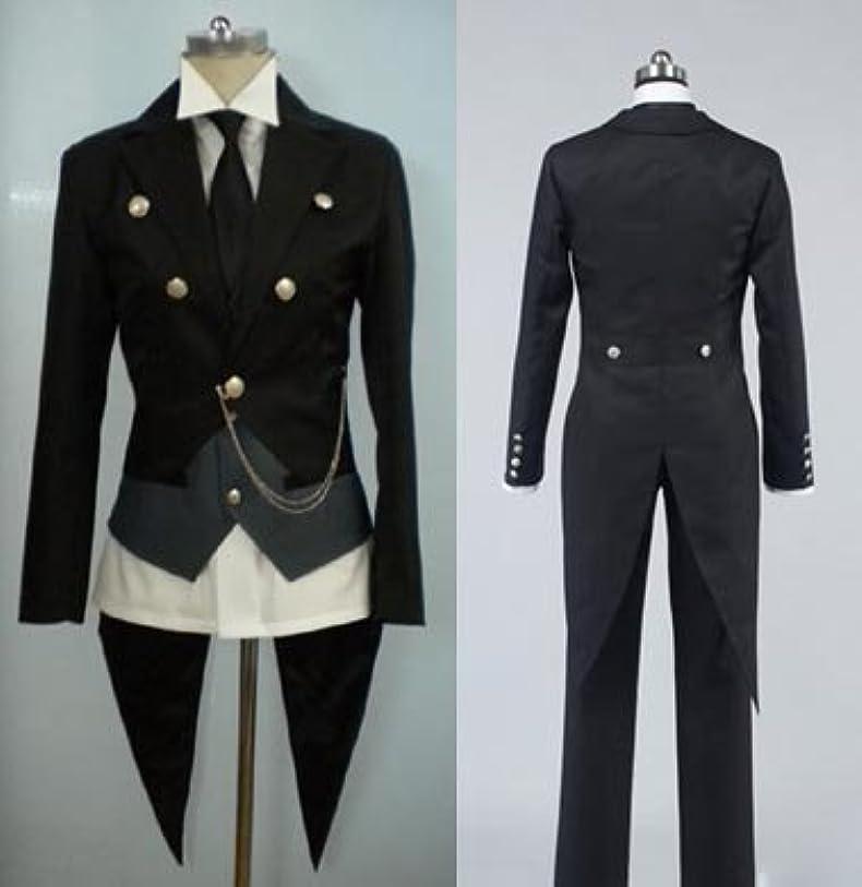 選択シェード司令官359黒執事 セバスチャン 燕尾服コスプレ衣装(男性L)