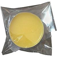 無添加 蜜蝋ワックス-亜麻仁油 少量10g 床ワックス 家具 木製品