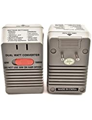Simran SM-1650 Step Down Power Converter for International Travel Converts 220 Volt to 110 Volt,Dual Setting 50W...
