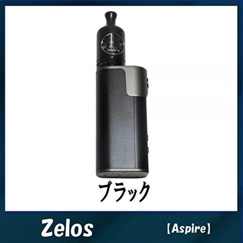 Aspire (アスパイア) ゼロス ノーチラス2 Zelos 50W nautilus2 スターターキット 電子タバコ バッテリー内蔵 (ブラック)