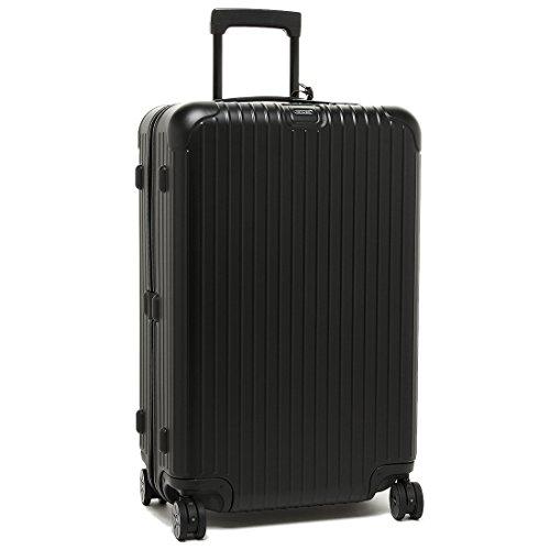 リモワ スーツケース RIMOWA 811.70.32.5 SALSA サルサ MULTIWHEEL ELECTRONIC TAG 78L 7~10泊用 4輪 TSAロック レディース/メンズ キャリーケース MATT BLACK [並行輸入品]