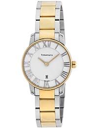 [ティファニー]Tiffany&Co. 腕時計 Atlas Dome シルバー文字盤 K18YG/SSケース Z1830.11.15A21A00A レディース 【並行輸入品】