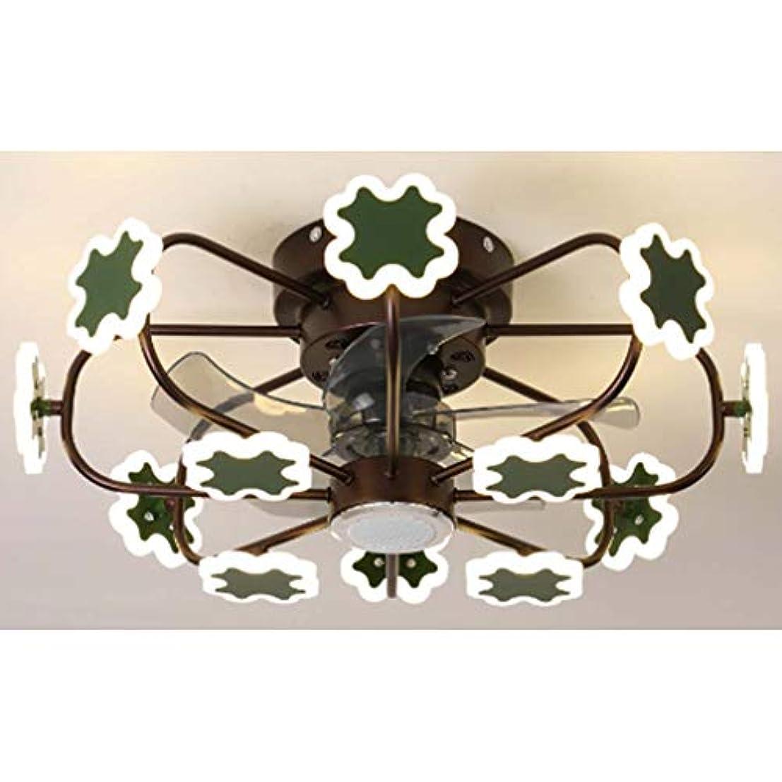 大事にする厳しい内部3-速度 3-カラー照明 ミュート 時間指定が可能 リバーシブルモーター 天井ファンライト,ラウンド ブルートゥースオーディオ ファンライト 12light 70w