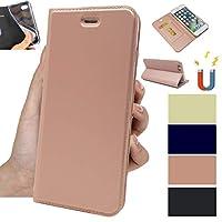 エイスース ZenFone4 Selfieケース 手帳型 zd553klケース ゼンフォン4 Selfie手帳型ケース スマホケースZD553KLカバーJaorty内蔵マグネット カードポケット スタンド機能 PUレザー 超薄型 人気 おしゃれ4色-ピンク