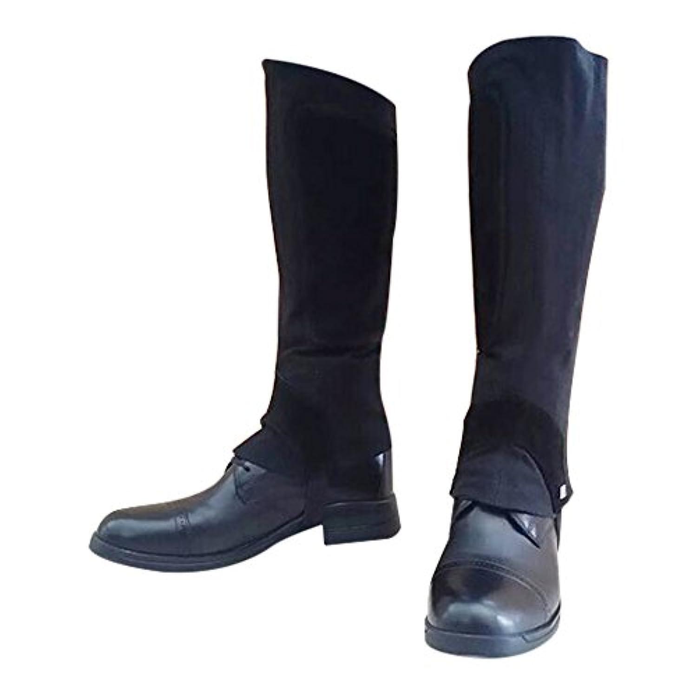 男女兼用 乗馬用のレギンス(カラー:ブラック) ※ブーツはつきません