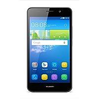 【日本正規代理店品】HUAWEI Y6 (Android5.1 + EMUI 3.1/5.0インチHD/800万画素/Qualcomm MSM8909 4コア(1.1GHz)/ MicroSim / ブラック SCL-L02-BLACK