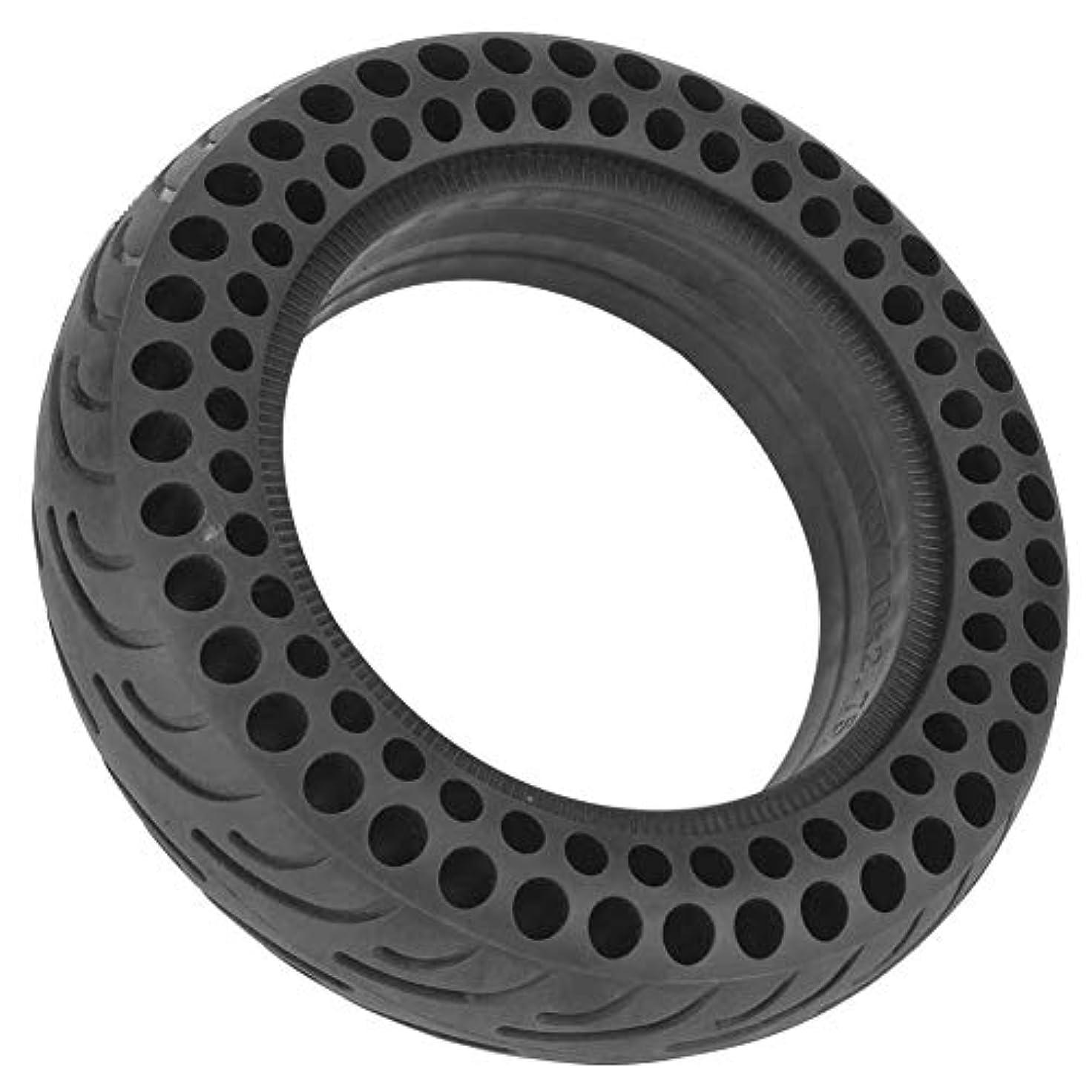 掘る印刷するぼかすスクータータイヤ ソリッドゴム 電動スケートボードタイヤ 黒