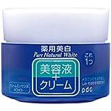 Pure NATURAL(ピュアナチュラル) クリームエッセンス ホワイト 100g (医薬部外品)