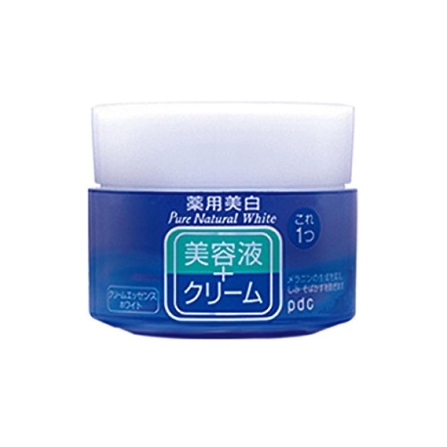 人種暖かく不利益Pure NATURAL(ピュアナチュラル) クリームエッセンス ホワイト 100g (医薬部外品)