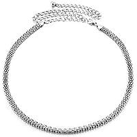 Torostra Womens Waistband Chain Belt New Fashion Plated Waist Chain Belt for Dress