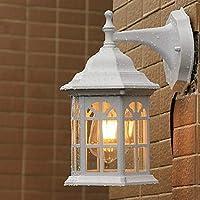 ウォールランプ、レトロウォールランプ&燭台ガーデンメタルウォールライト85-265V