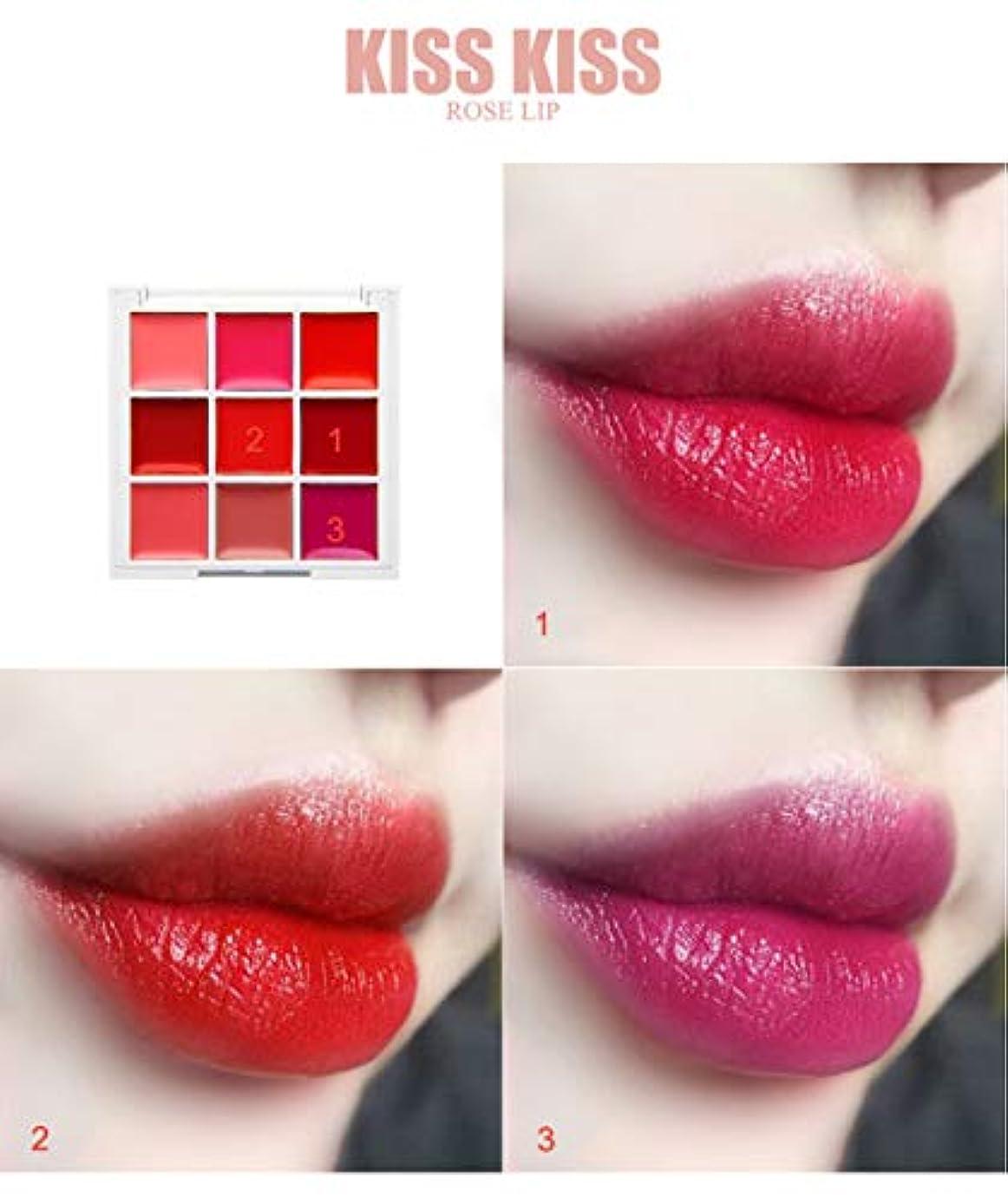 熱狂的な人柄気分が良い美は口紅の保湿剤の唇の光沢の化粧品セットを構成します