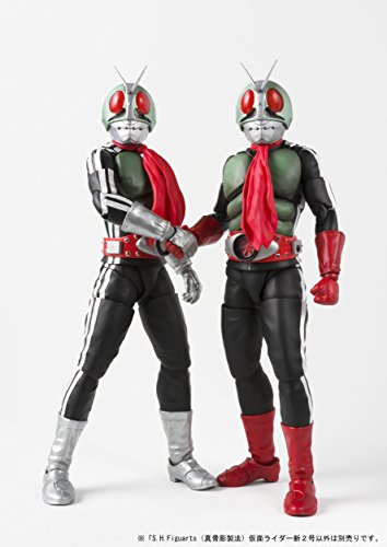 S.H.フィギュアーツ(真骨彫製法) 仮面ライダー 仮面ライダー新2号 約145mm ABS&PVC製 塗装済み可動フィギュア