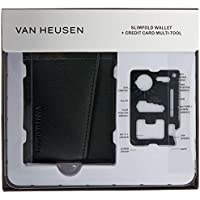 Van Heusen Men's Wallet & Tool Gift Pack, Brown, One Size