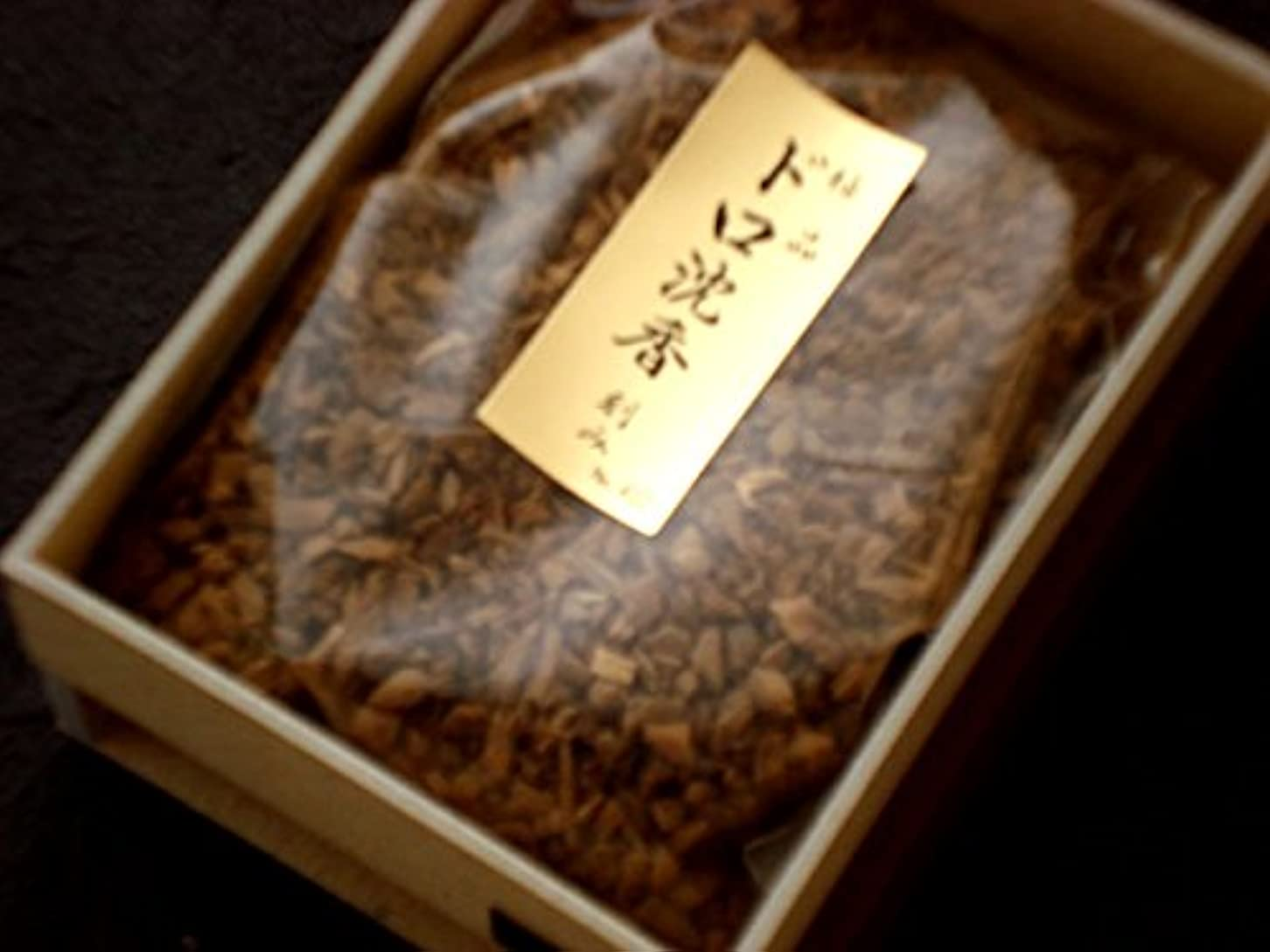 拾う個人的にジュラシックパーク香木刻み 極品ドロ沈香 15g 【香木】